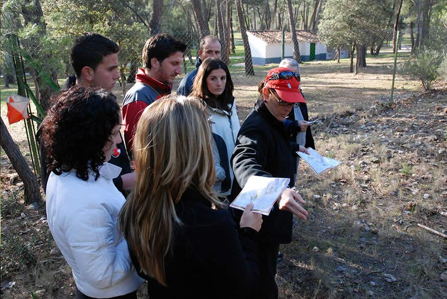 actividades de aventura para los grupos de escolares en sierra de cazorla