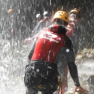 Actividades de aventura en cazorla. descenso de barrancos en Pozo Alcon