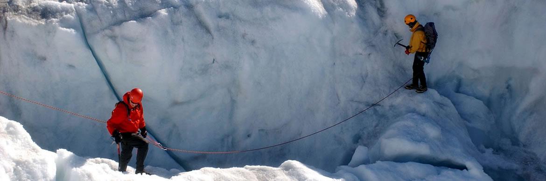 Progresión en rescate glacial