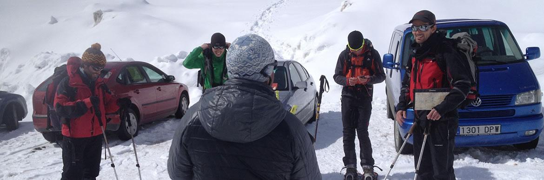 Nivología, rescate en avalanchas