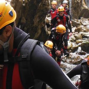 Barranco de Guadalentin, aventura en sierra de cazorla