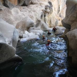 aventura Cazorla. descenso de barrancos en sierra de cazorla