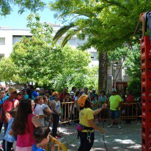 Juegos para ninos complementarios en el festival de montana sierra de cazorla