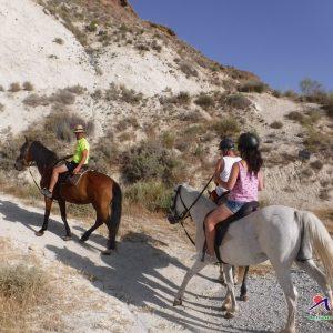 rutas guiadas a caballo por sierra de cazorla