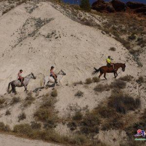 ruta a caballo por el municipio de hinojares