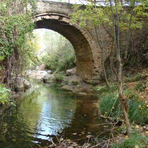 Puente de las herrerias en Sierra de Cazorla, naturaleza e historia