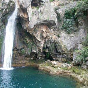 Rio Borosa en sierra de cazorla
