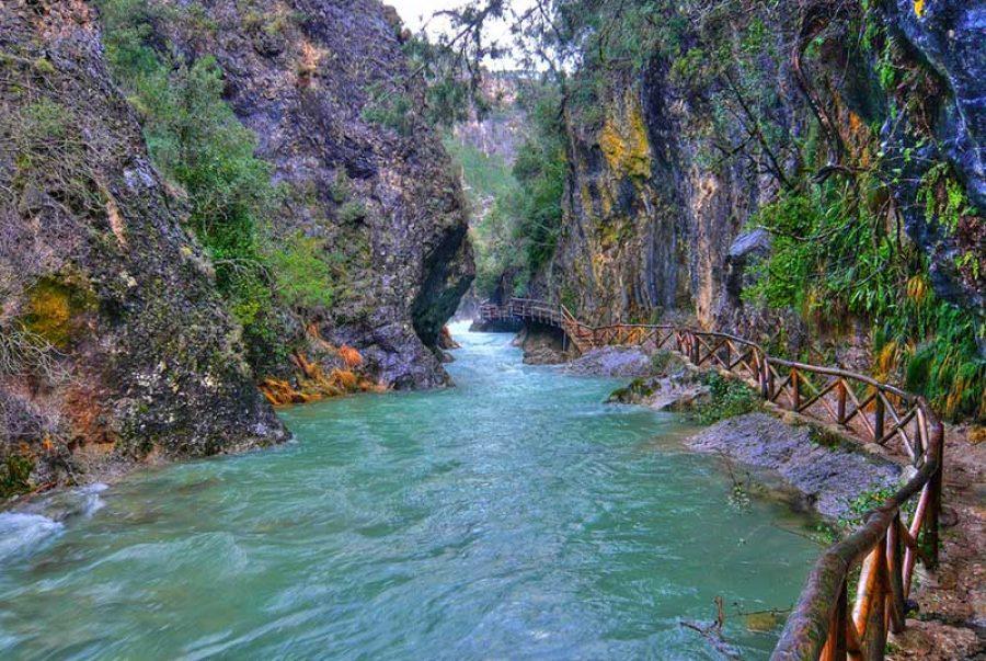 Sierra de Cazorla. rio Borosa y Cerrada de Elias