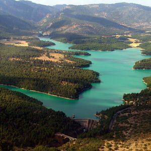 Sierra de Cazorla, embalse de la bolera