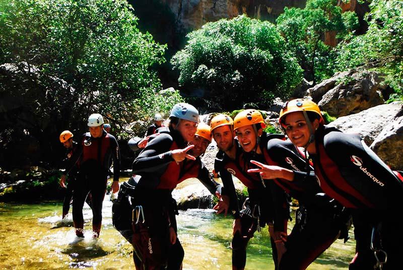 actividades de aventura con Aventura Sport en sierras de cazorla