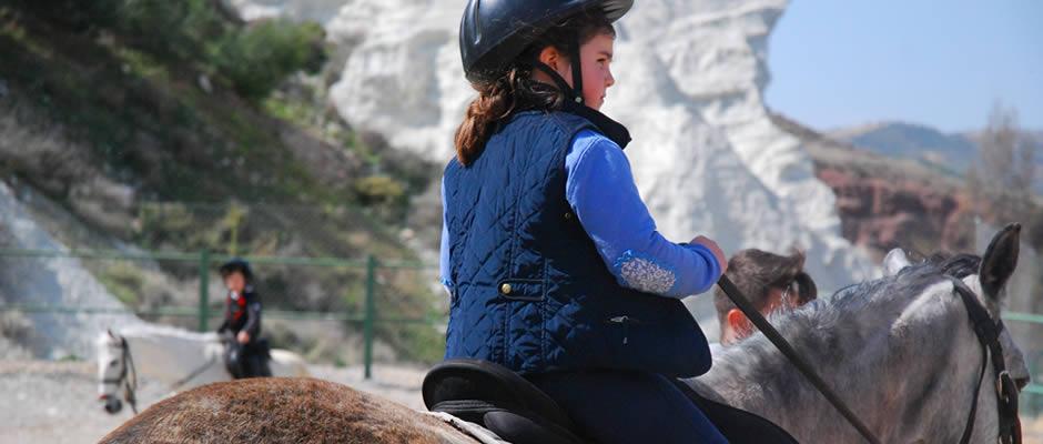 rutas a caballo en hinojares