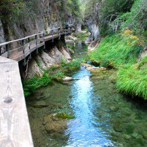río Borosa en Sierras de Cazorla