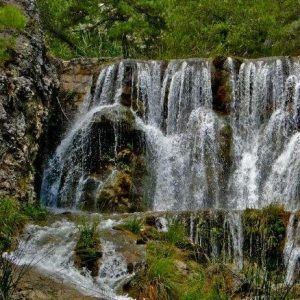 Arroyo Guazalamanco en Sierras de Cazorla, pozo alcón