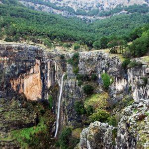 cascada de el Chorro en Sierras de Cazorla