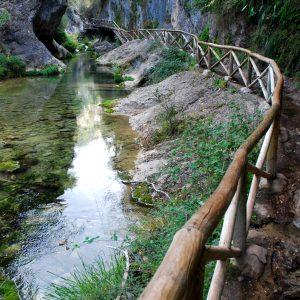 Cerrada de Elias y rio Borosa en Sierras de Cazorla