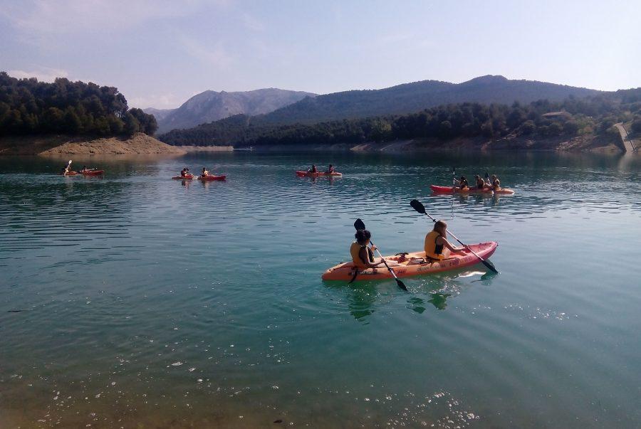actividades para grupos en sierra de cazorla, despedidas de solteros aventureras, divertidas y refrescantes