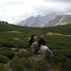 rutas a caballo en sierras de cazorla