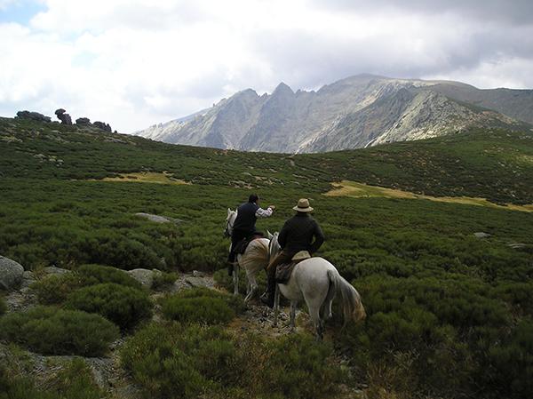ruta a caballo en el Parque Natural Sierras de Cazorla, Segura y las Villas