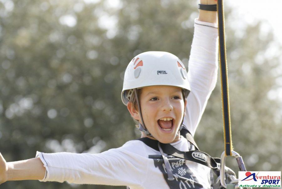 Actividades para escolares en sierra de cazorla, multiaventura