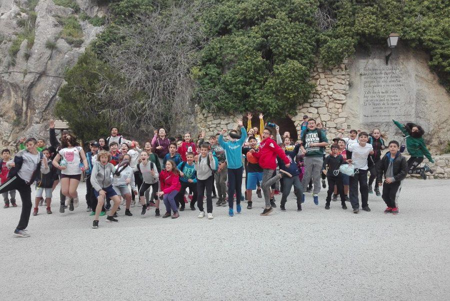 Actividades para escolares en Sierra de Cazorla, Quesada. viajes de fin de curso