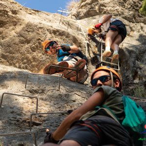 actividades de aventura en Jaen, vias ferratas en sierra de cazorla