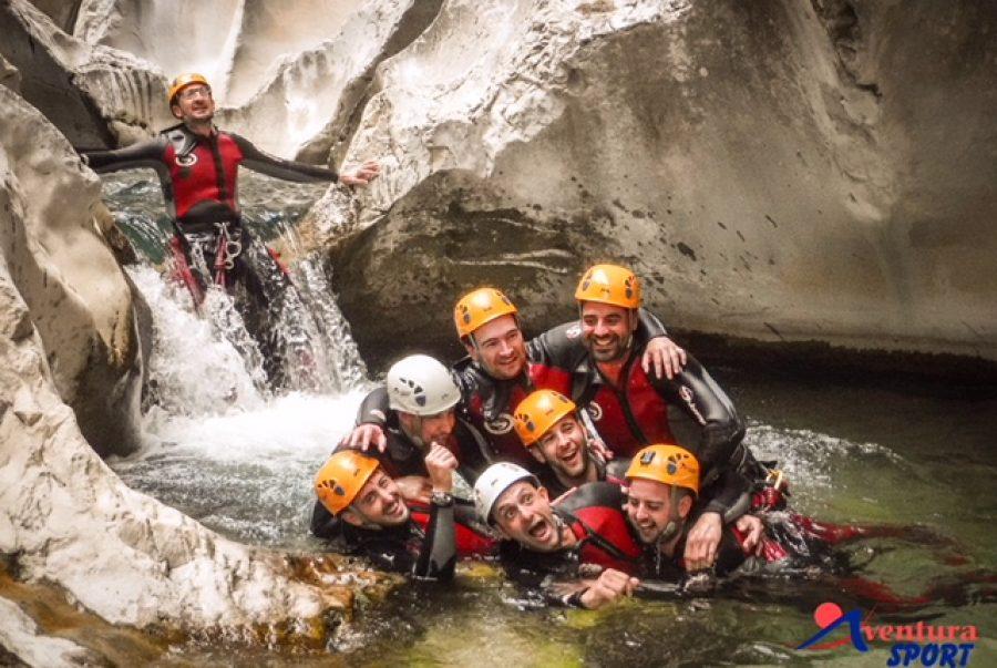 actividades de aventura, descenso de barrancos en la bolera, sierra del pozo, sierra de cazorla