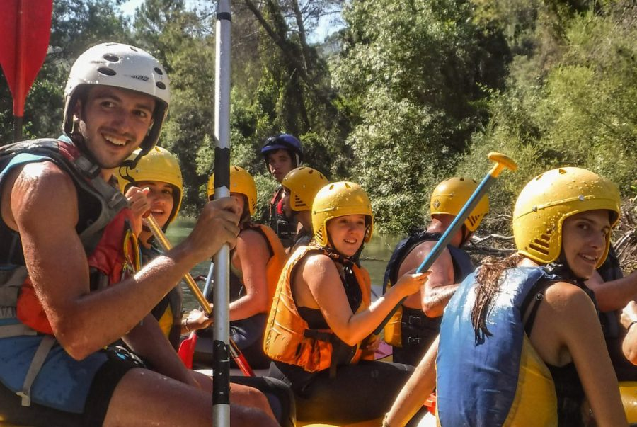 Rafting Parque Natural Cazorla Segura Villas AventuraSport
