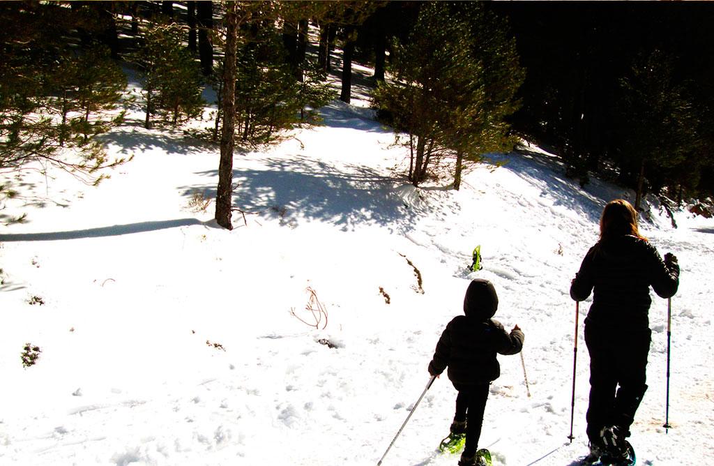 Raquetas de Nieve en Cazorla