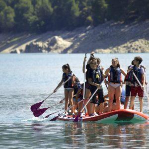 paddle surf gigante para grupos en sierras de cazorla