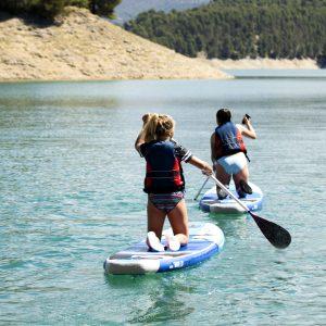 paddle surf en sierras de cazorla, Segura y las villas