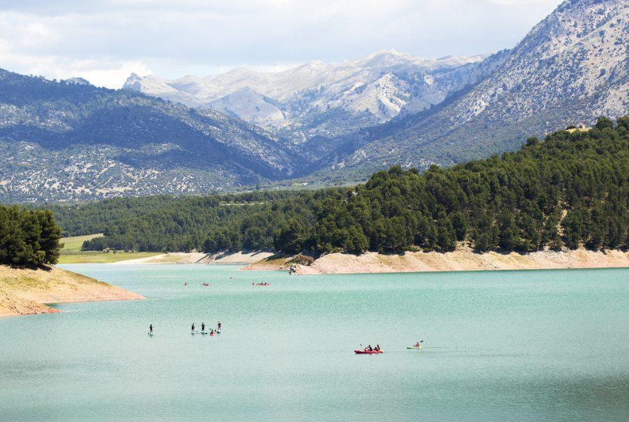 actividades de aventura embalse la bolera, en Pozo Alcón,camping de la bolera, teco y tseas, Semana Santa, turismo activo