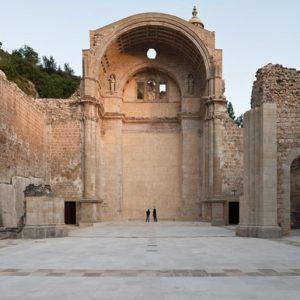 ruinas de la iglesia de santa maria, casco antiguo de Cazorla