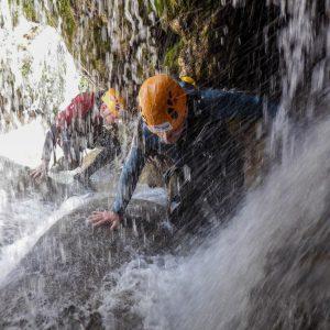descenso de barrancos rio guadalquivir, aventura en cazorla