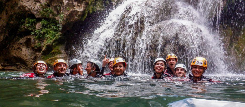 actividades acuáticas y de aventura en sierras de cazorla