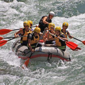 rafting en sierras de cazorla