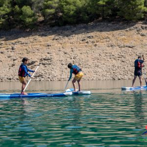 turismo activo en el camping de la bolera, aventura en sierra del pozo