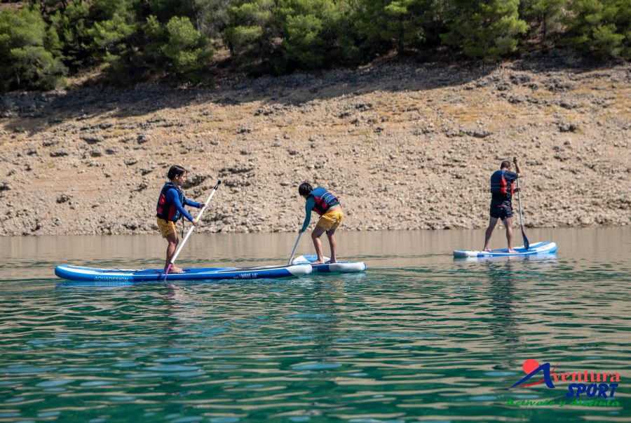 actividades de paddle surf desde el albergue inturjoven cazorla