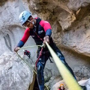 descenso de barrancos rio guadalentin