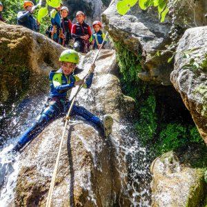 descenso de barrancos en el guadalquivir, turismo activo en arroyo frio