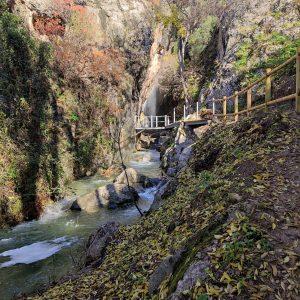 entorno natural del pilón azul, en término de Quesada en Sierras de Cazorla