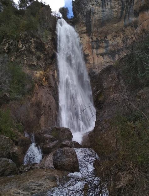 cascada de chorrogil, parque natural sierras de cazorla, segura y las villas