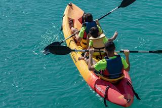 paseos en kayak por el río guadalquivir en coto rios