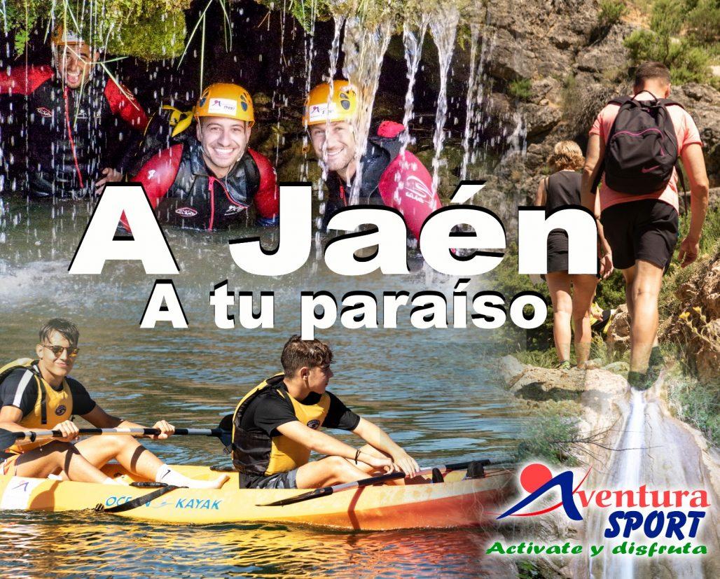 a jaen, a tu paraiso, actividades de aventura gratuitas por la diputacion de jaen