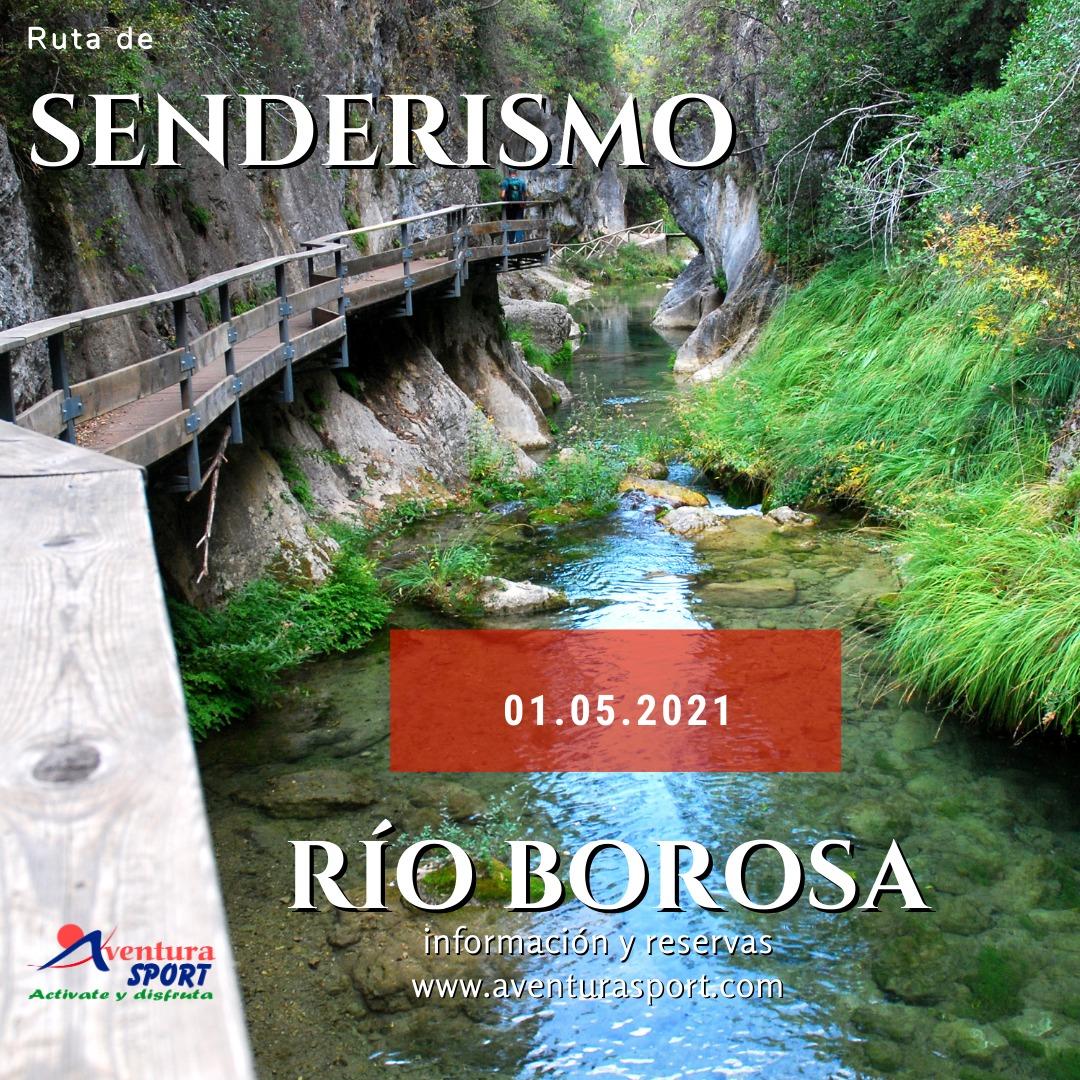 ruta de senderismo por el rio borosa