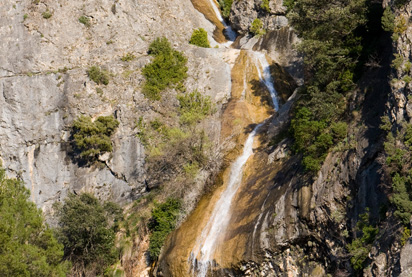 cascada de la escaleruela en sierras de cazorla, senderismo