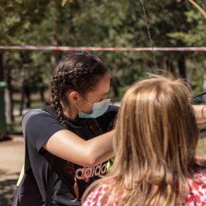 cumpleaños multiaventura para niños con tiro con arco