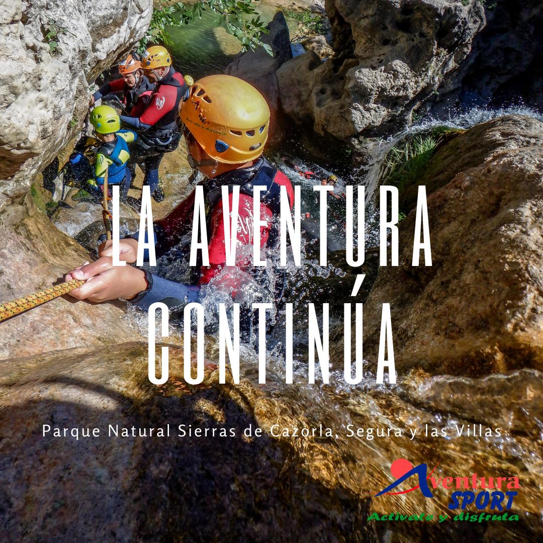 actividades de aventura en otoño en el parque natural sierras de cazorla